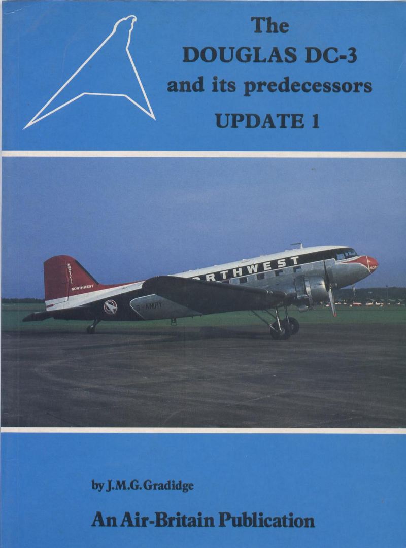 Book The Douglas DC-3 and its predecessors update 1
